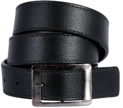 Bigshoponline Men Black Synthetic Belt