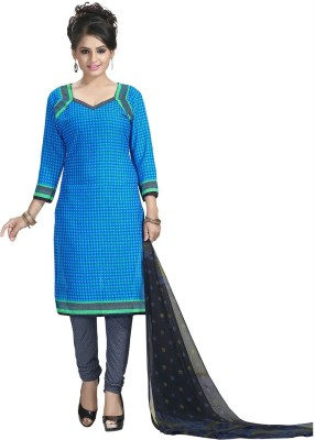 Giftsnfriends Cotton Printed Salwar Suit Material Unstitched