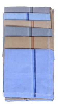 Kuber Industries Cotton 6 Pieces Handkerchief set (Multi) Handkerchief(Pack of 6)
