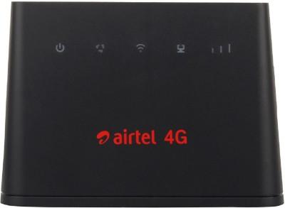 Airtel B310 4G ALL SIM SUPPORT HOTSPOT WIFI Router(Black)