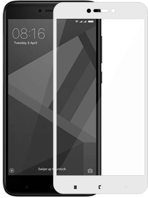 Casotec Edge To Edge Tempered Glass for Mi Redmi 4(Pack of 1)