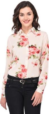 Purys Women Floral Print Casual Multicolor Shirt
