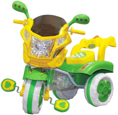 Ehomekart Funride COMET Bike / Scooter / Tricycle for Kids with LED LIGHTS and MUSIC for Kids TRI016 Tricycle Green Ehomekart Tricycles
