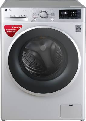 Image of LG 8 kg Fully Automatic Front Load Washing Machine which is among the best washing machines under 35000
