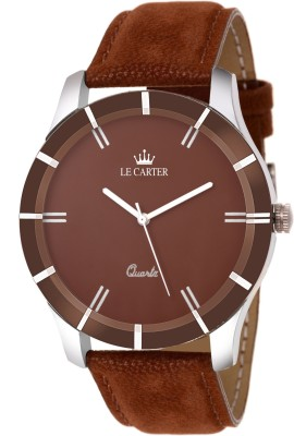 Le Carter LCW-4004 Leather Strap Stylish Analog Watch  - For Men