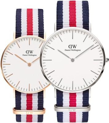 Daniel Wellington DW00100002 Classic Canterbury Analog Watch  – For Men