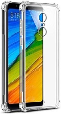 Velfo Back Cover for Mi Redmi Note 5 Transparent, Rubber