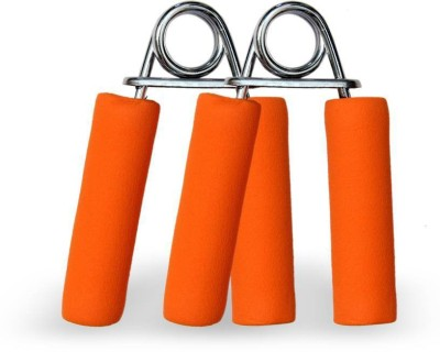 SUNLEY 1 Pair Foam Handle Hand Grip/Fitness Grip Orange