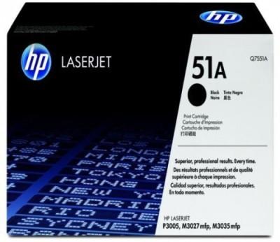 HP 51A Black Original LaserJet Toner Cartridge  Q7551A  Black Ink Toner HP Toners