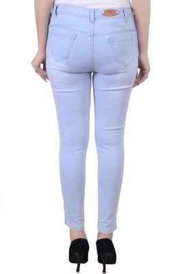 Manash Fashion Slim Women Light Blue, Dark Blue Jeans(Pack of 2)