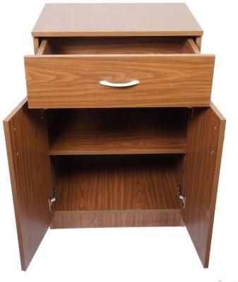 Home Full Ben Engineered Wood Crockery Cabinet(Finish Color - OAK)