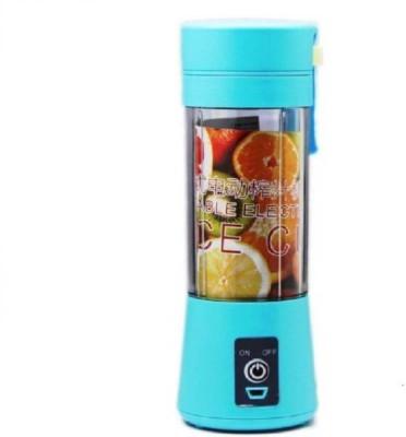 KRITAM Portable Electric Fruit Juicer Maker/Blender 1 (Multicolor, 1 Jar) 0 W Juicer (1 Jar, Multicolor)