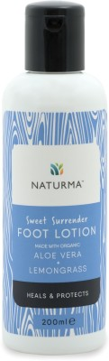 Naturma Sweet Surrender Foot Lotion Aloe Vera + Lemongrass(200 ml)