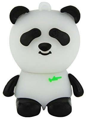 Microware Panda Shape 16  GB Pen Drive Black Microware Pen Drives