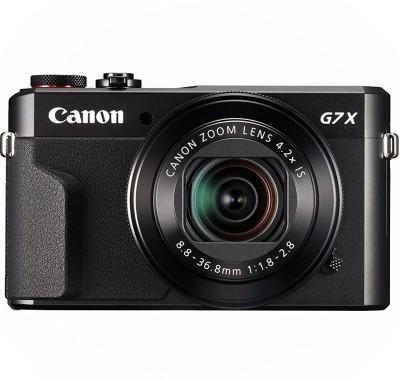 Canon Powershot G7 X Mark ii Point and Shoot Camera(20.1 MP, 4.2x Optical Zoom, 4.2x Zoom Digital Zoom, Black) 1