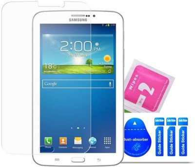 Bibossi Tempered Glass Guard for Samsung Galaxy Tab 3 T211 [7 Inch](Pack of 2)