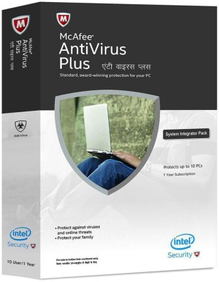 McAfee Anti-virus 1.0 User 1 Year(Voucher)