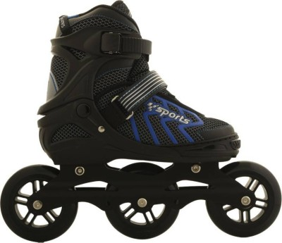 Assemble Adjustable with In-line Skates 100 mm PU Wheel - Size 6-8 UK In-line Skates - Size 6-8 UK(Multicolor)