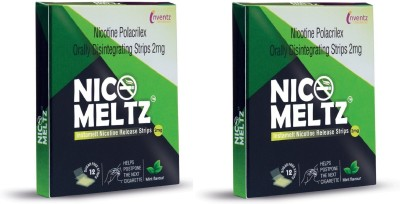 Nico Meltz Nicomeltz pack of two 24 hour patch Smoking Patch(Pack of 12)