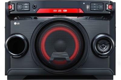 LG OK45 XBOOM 220 W Bluetooth Party Speaker(Black Red Deco, Mono Channel)