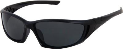 Silver Kartz Sports Sunglasses(Black)