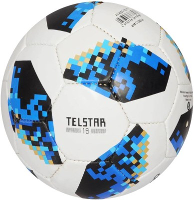 SMT TELSTAR BLUE Football   Size: 5 Pack of 1, Multicolor