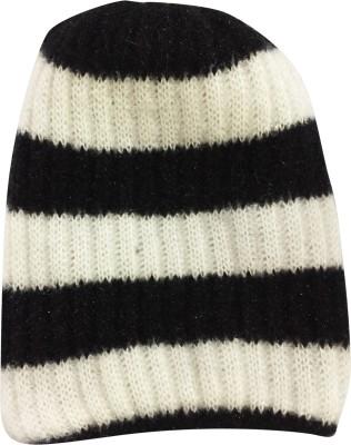 GRACEWAY Striped Skull Beanie Cap Cap GRACEWAY Women's Caps