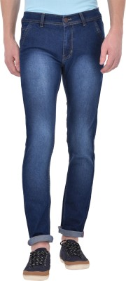 Ansh Fashion Wear Slim Men Blue Jeans