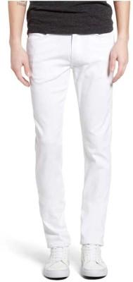 Ansh Fashion Wear Slim Men White Jeans