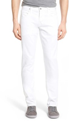 Ansh Fashion Wear Regular Men White Jeans