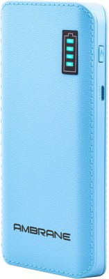 Ambrane 12500 mAh Power Bank (P-1133)(Blue, Lithium-ion) at flipkart