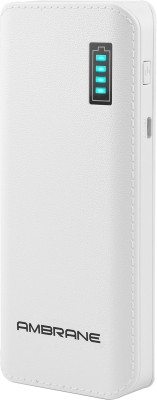 Ambrane P-1133 12500mAh Power Bank (White)
