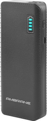 Ambrane P-1133 12500mAh Power Bank (Black)