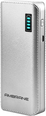 Ambrane P-1133 12500mAh Power Bank (Silver)
