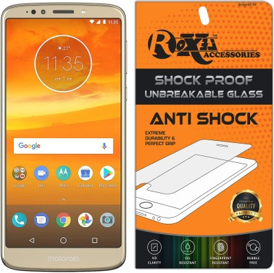 Roxel Screen Guard for Moto E5 Plus (Fine Gold, 5000mAh Battery)(Pack of 1)