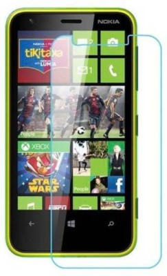 RM WORLD Tempered Glass Guard for Nokia Lumia 620(Pack of 1)