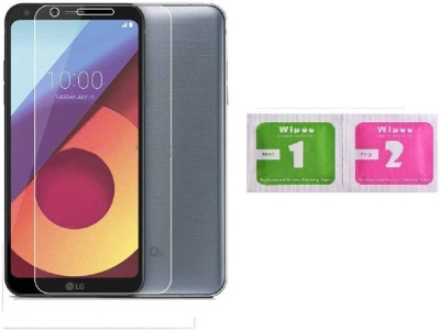 Slm Accessories Tempered Glass Guard for LG Q6(Pack of 1)