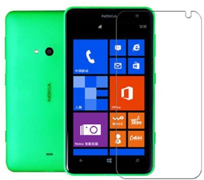 RM WORLD Tempered Glass Guard for Nokia Lumia 525(Pack of 1)