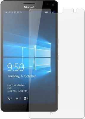 RM WORLD Tempered Glass Guard for Nokia Lumia 950XL(Pack of 1)