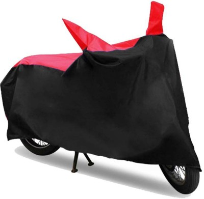 HMS Two Wheeler Cover for DSK Benelli(TNT 25, Black, Red)