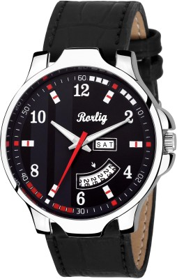 Rorlig RR-1072 Day and Date Watch  - For Men
