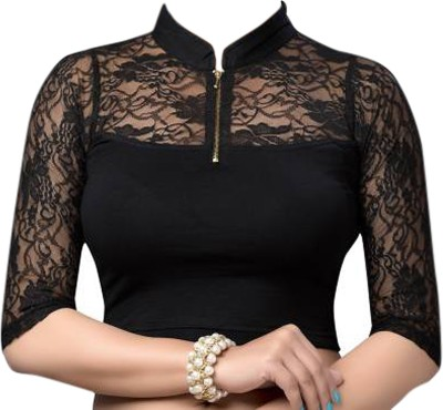 FASTR Band collar Women's Stitched Blouse