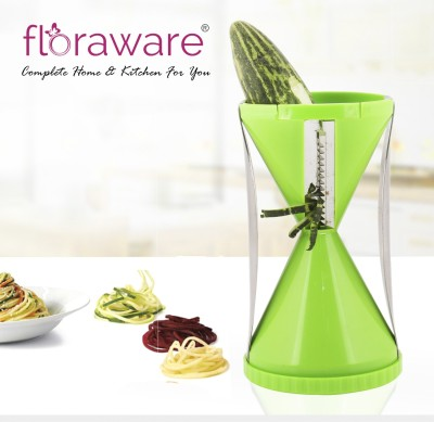 floraware spiral Vegetable & Fruit Slicer(1 Set) at flipkart