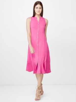 AND Women Gown Pink Dress