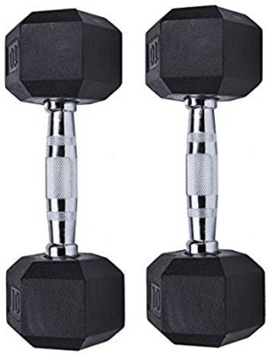 FITNESS A TO Z BEST QUALITY 3 KG DUMBBELL PACK OF PAIR ( 2 pc ) Fixed Weight Dumbbell(6 kg)