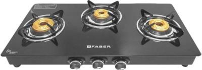Faber Splendor 4BB BK 4 Burners Gas Cooktop (Black)
