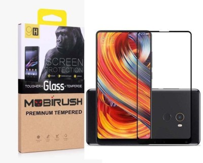 MOBIRUSH Edge To Edge Tempered Glass for Mi Mix 2, Mi Redmi Mix 2(Pack of 1)