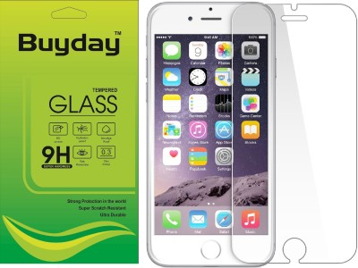 Buyday Tempered Glass Guard for Apple iPhone 6, Apple iPhone 6s(Pack of 1)