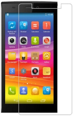 Desirtech Tempered Glass Guard for Micromax Canvas 1 C1(Pack of 1)