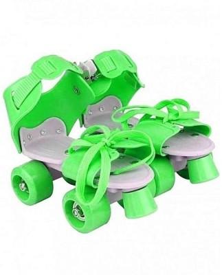 Aurion KIDS-ROLLER-SKATES(GREEN) Quad Roller Skates - Size 5-11 UK(Green)